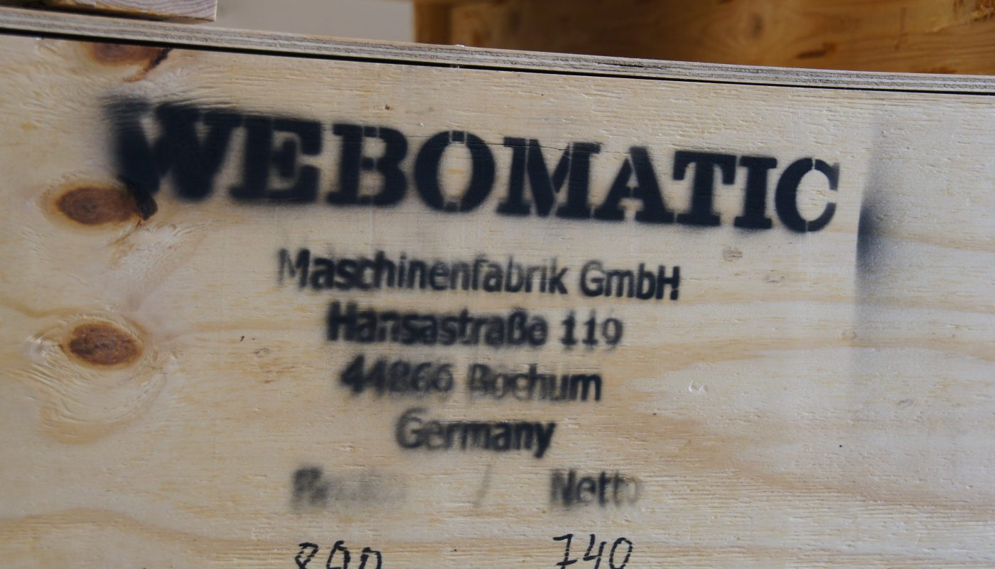 Von Bochum in die ganze Welt: Webomatic exportiert den weitaus größten Teil seiner Maschinen.