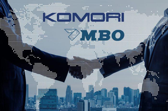 Komori  übernimmt MBO-Gruppe