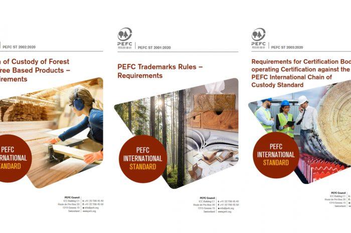 Neue PEFC-Standards für Chain-of-Custody-Betriebe