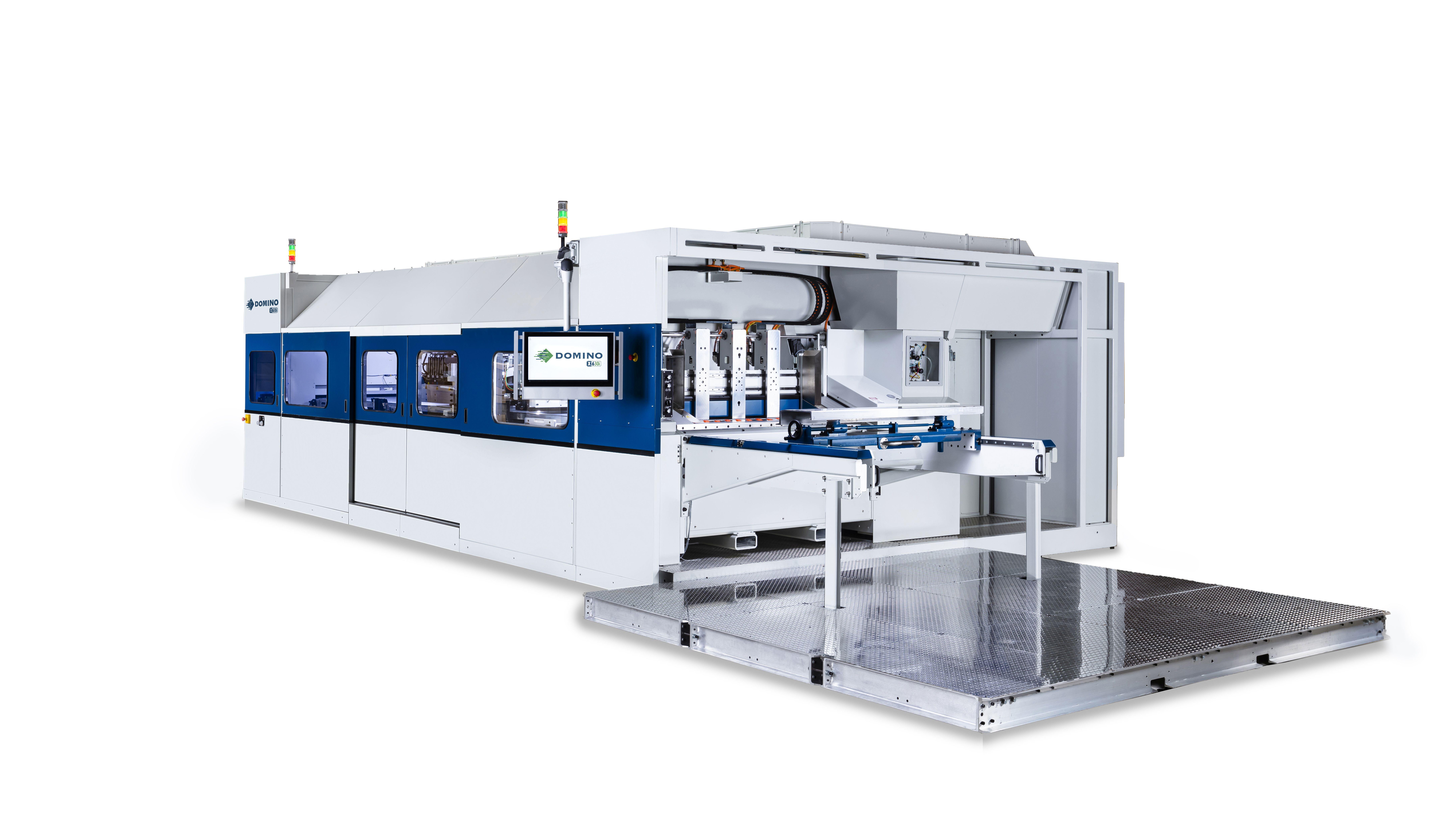 Inkjet-Druckmaschine für Wellpappe von Domino