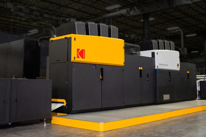 Die neue Kodak Prosper Ultra 520 Druckmaschine